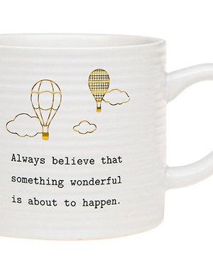 Thoughtful Words Mug - Believe