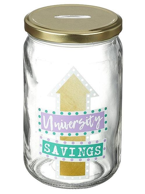 University Savings Jar