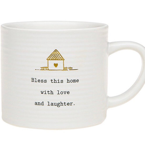 Seconds Thoughtful Words Mug - Bless