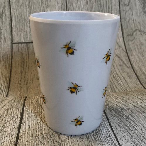 Set of 2 Bee Picnic / Garden Tumblers