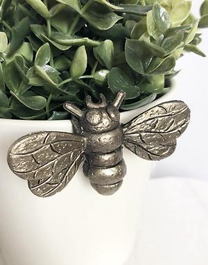Gold Bee Plant Pot Hugger