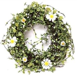 Springtime Rattan Wreath