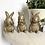 Thumbnail: Here See Speak No Evil Bunny Ornament
