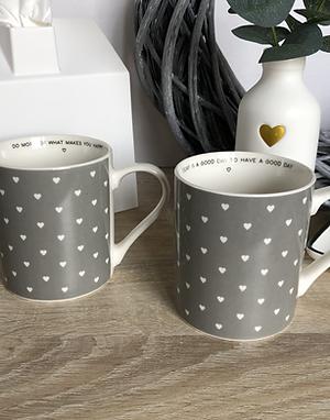 Love Quote Mug 2 Assorted