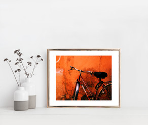 Red Bicycle, Marrakesh