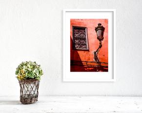 Red Lamp, Marrakesh