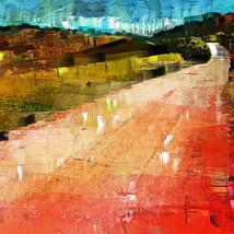 Red Landscape, Andalucia