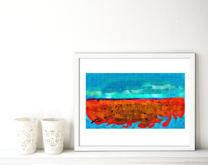 Red and Gold Beach, Burnham on Sea