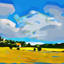 Small Abstract Landscape, Rotherfield Peppard
