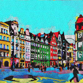 Town Square, Wroclaw