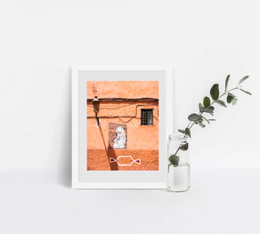 Wall, Marrakesh