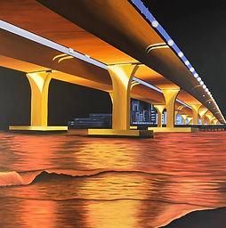 Beneath the Lesner Bridge at Night.jpg