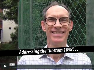 Addressing the bottom 10%...