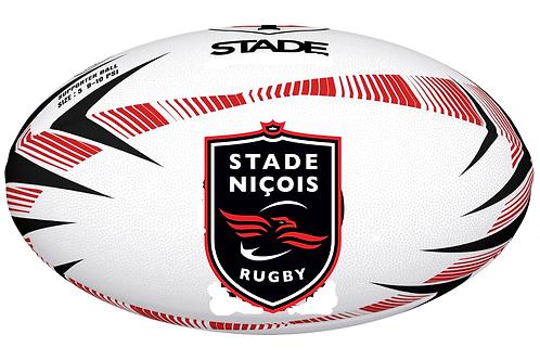 "BtoB Stade Niçois Ballon Personnalisé Gilbert Rugby ""SUPPORTER"" Mini"