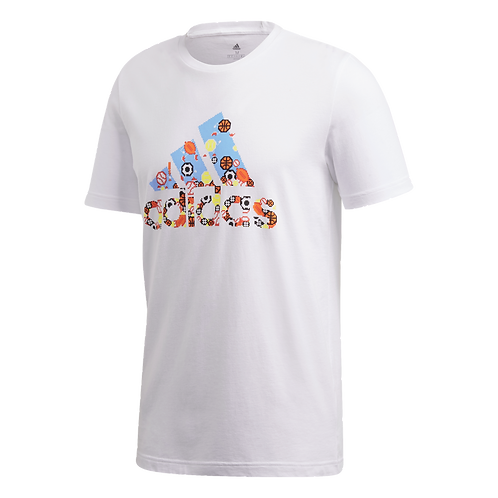 ADIDAS T SHIRT HOMME 8BIT BADGE OF SPORT