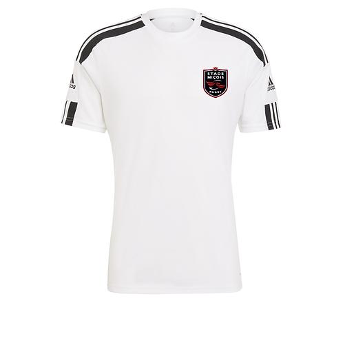 btob Stade Niçois Squadra 21 Jersey White/Black