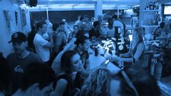 Slammed bar at a Grand Opening I played.