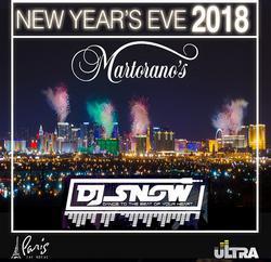 DJ Snow NYE 2018
