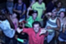 People Dancing to DJ Snow