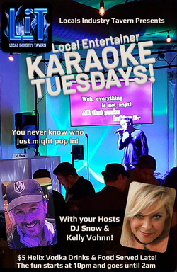 LIT Karaoke Tuesdays SNOW VOHNN