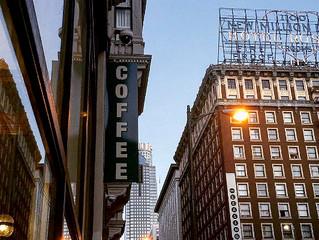 로스앤젤레스 다운타운가장 '핫'한 커피숍
