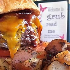 "The Cheddar ""CRACK"" Bacon Burger"