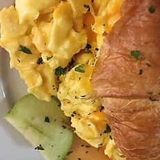 Are You Yolkin'? Egg Sandwich