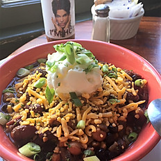 Vegetarian 3 Bean Chili - Bowl