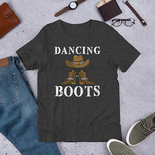 Debbie Nunn Official Merchandise Short-Sleeve Unisex T-Shirt - Dancing Boots