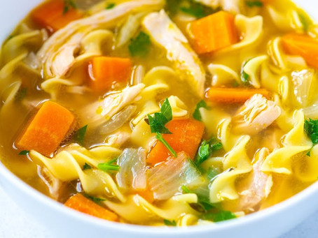 Grandma was right - chicken soup is really good for you!