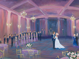 Live Painting- The New Wedding Trend
