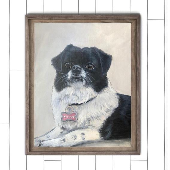 Dog Painting Wilmington NC