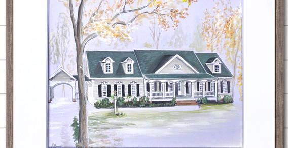 House Portrait wilmington nc
