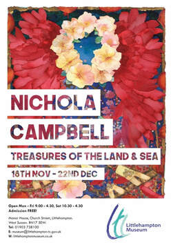 Treasures of the Land & Sea Poster