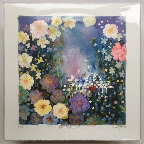 'For All Garden Lovers' giclee prints