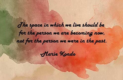 Insight from Marie Kondo