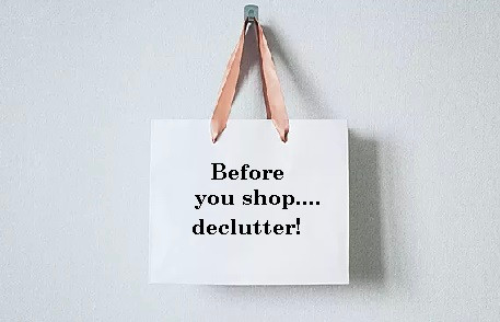 Decluttering is the new shopping!