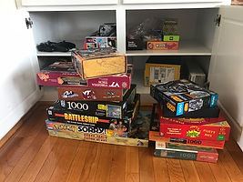 Disorganized games and movies