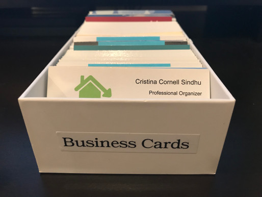 Perfect Size for Business Cards!