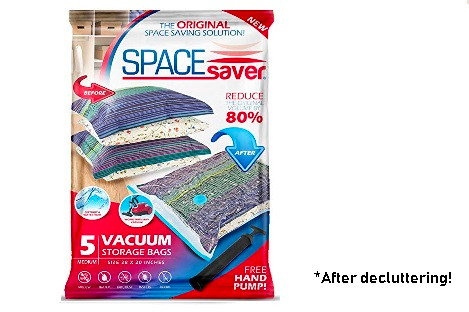 Space Saver Vacuum Bags*