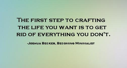 My favorite minimalist quote