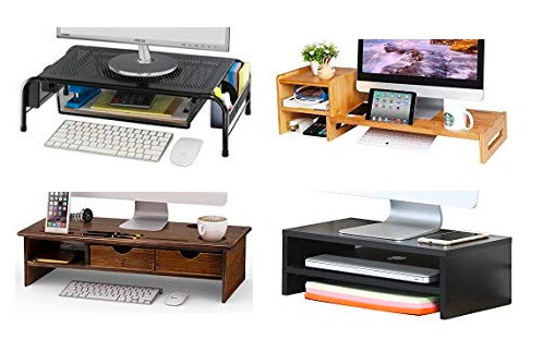 Computer Stand adds Extra Storage