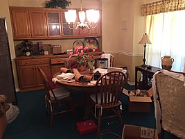 Disorganized living space