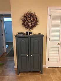 Storage cabinent in kitchen