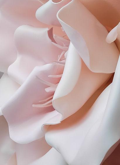 Flor rosada 3D