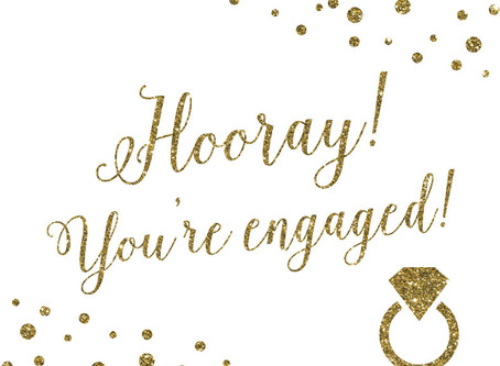 Hooray...It's Engagement Season!
