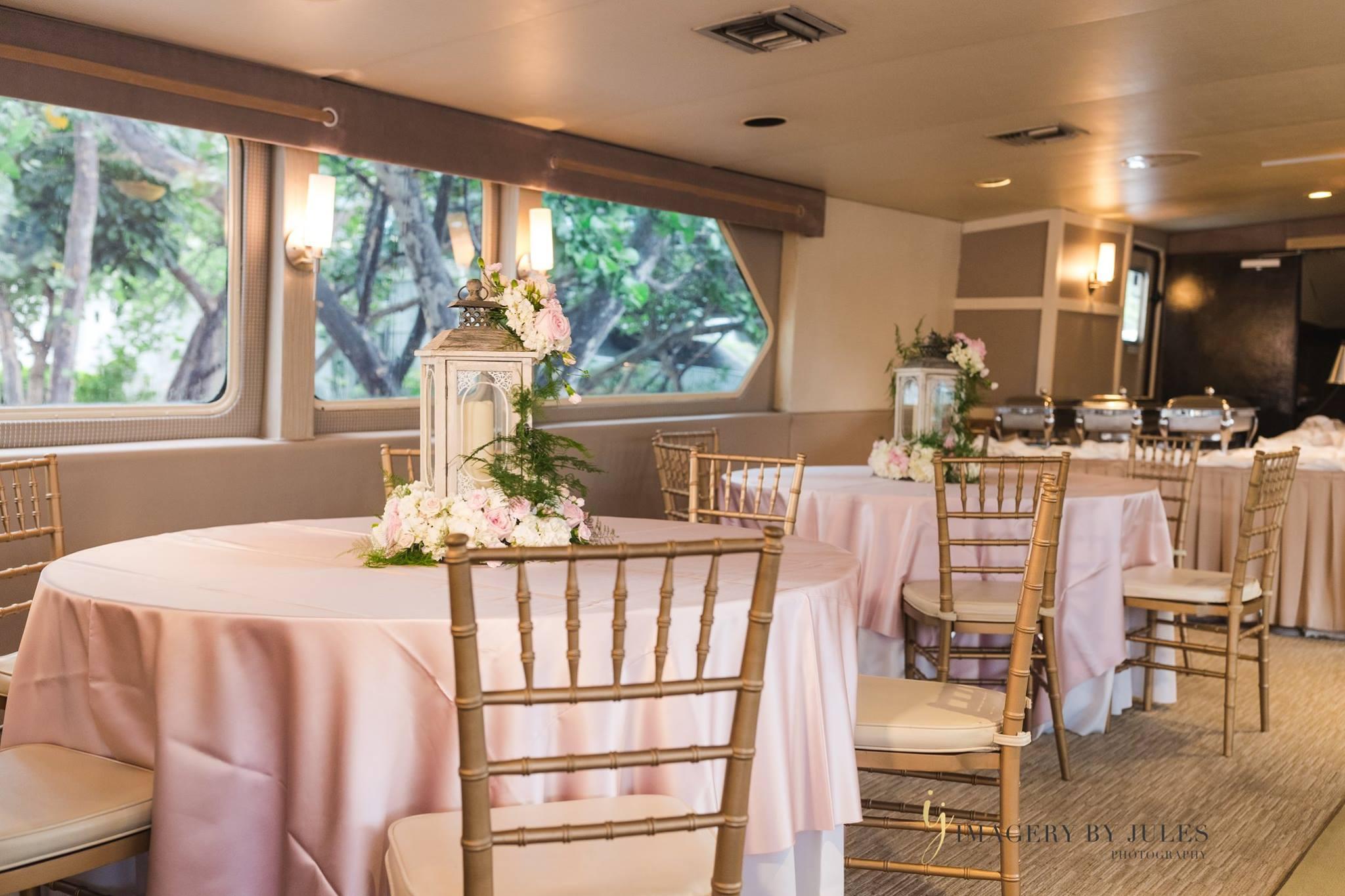 Yacht Wedding Reception Venue