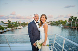 Yacht Wedding Reception in South FL