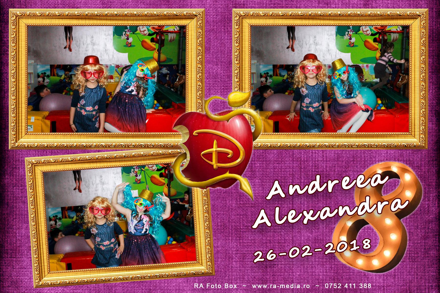 Andreea 8 ani