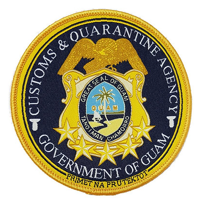 Guam Customs and Quarantine Agency Shoulder Patch